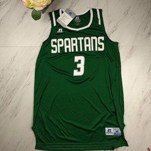 Spartans Jersey Top SZ M NWT